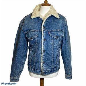 Vintage Levi's trucker denim jean jacket 36R